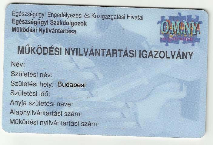 gázmesteri kártya